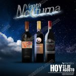Venta Nocturna en Vinoteca 31 de Agosto OFFDE
