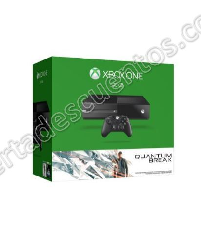 Amazon: Xbox One 500 GB más Juegos Quantum Break y Alan Wake a $4,999