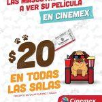 cinemex 20 en todas las salas mascotas OFFDE