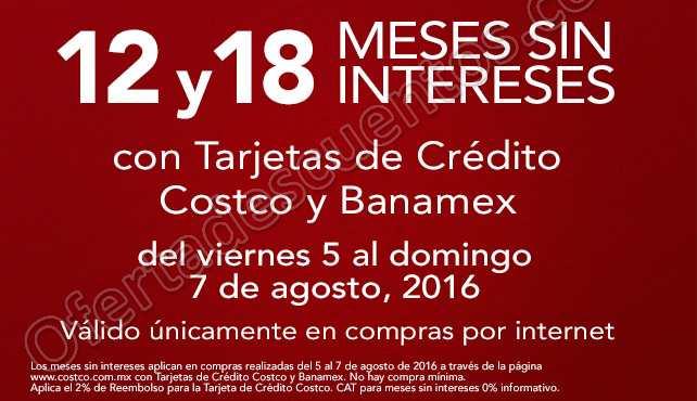 Costco: Hasta 18 Meses Sin Intereses Con Banamex