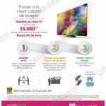 cupon 5000 pantallas Sony OFFDE