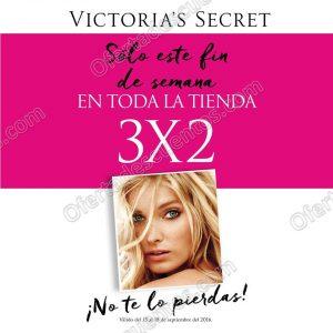 d18ea0d03d Victoria s Secret  3×2 en Toda la Tienda · Ofertas Victoria s Secret
