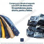 Gap 2x1 y medio en pantalones, faldas y Shorts  2016 OFFDE
