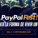 PayPal Fest 2016 del 6 al 9 de septiembre OFFDE