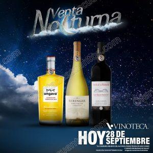 Vinoteca México: Venta Nocturna 28 de Septiembre