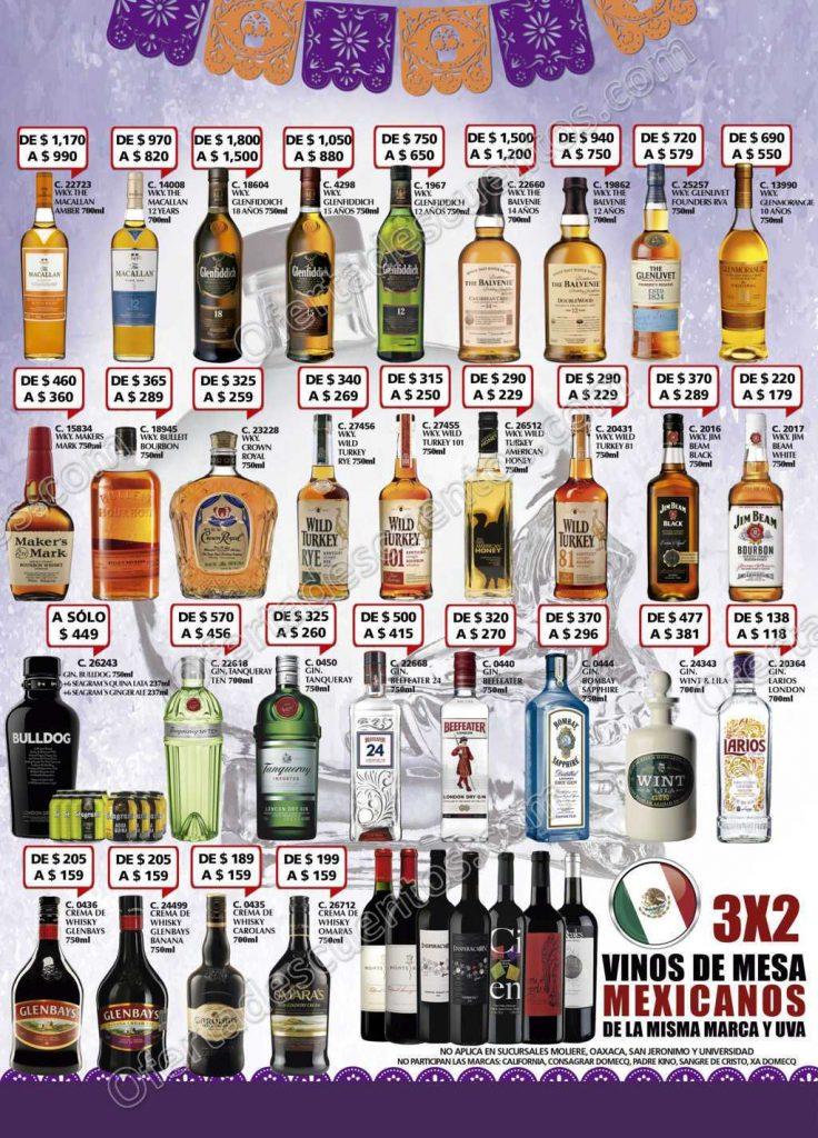 Bodegas Alianza: Ofertas en Vinos y Licores del 25 al 30 de Octubre
