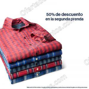 GAP: 50% de descuento en segunda prenda en Polos, Blusas, Camisas y Playeras al 13 de Octubre