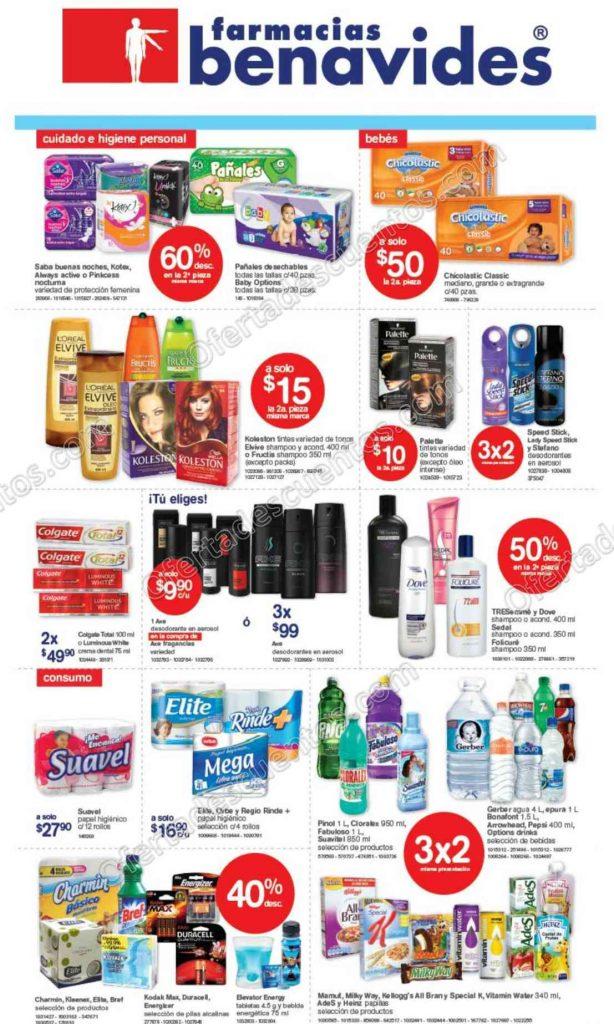 Farmacias Benavides: Promociones de Fin de Semana del 14 al 17 de Octubre