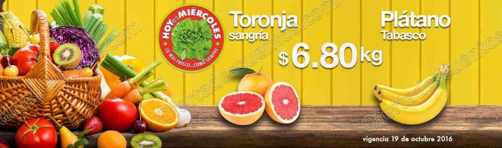 Comercial Mexicana: Frutas y Verduras Hoy Es Miércoles 19 de Octubre