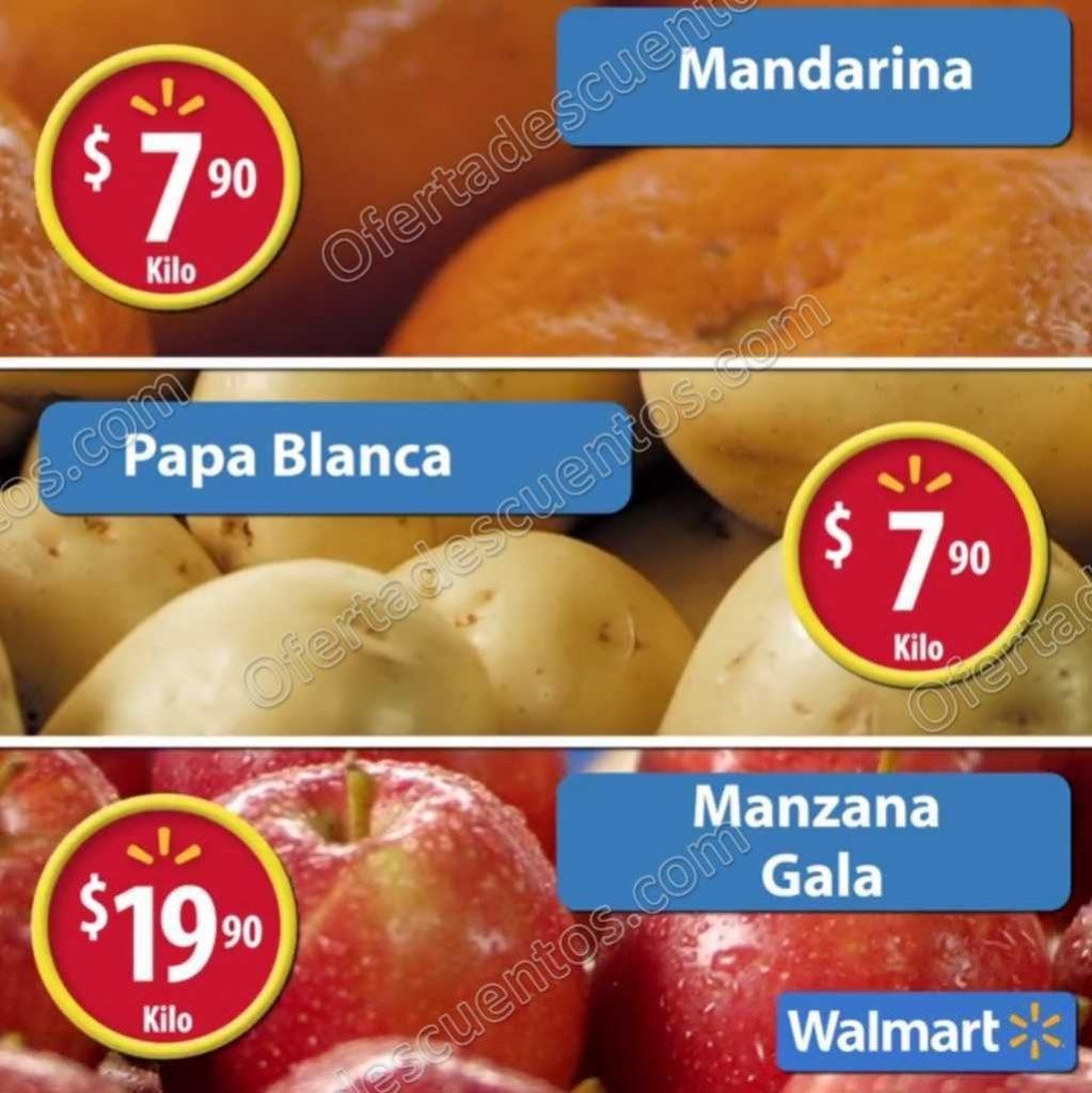 Frutas y Verduras en el Martes de Frescura Walmart 1 de Noviembre 2016