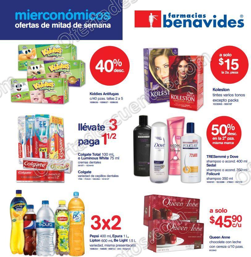 Farmacias Benavides: Ofertas del Mierconómicos 12 de Octubre