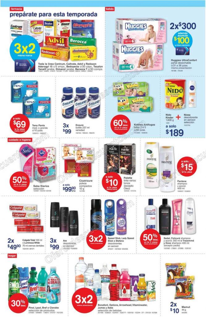 Farmacias Benavides: Promociones de Fin de Semana del 21 al 24 de Octubre
