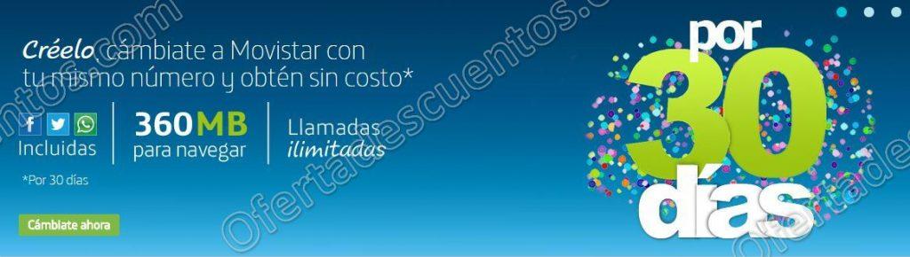 Movistar: Cambia tu número a Movistar y por $100 disfruta de llamadas ilimitadas y más
