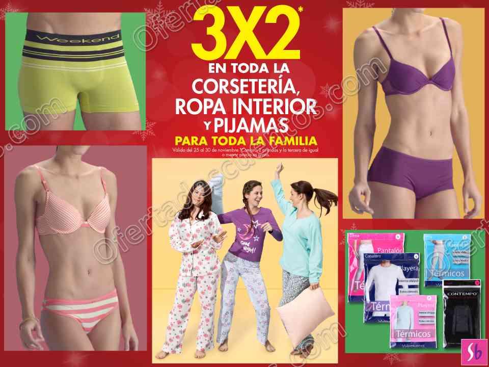 Suburbia 3 2 en toda la corseter a ropa interior y for Ofertas de ropa interior