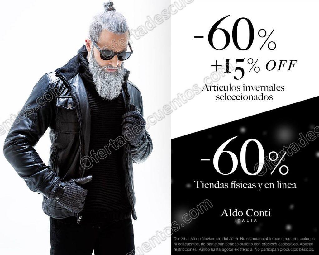 Aldo Conti: 60% de descuento más 15% adicional en artículos de invierno