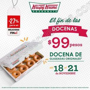 Promociones del Buen Fin 2016 en Krispy Kreme