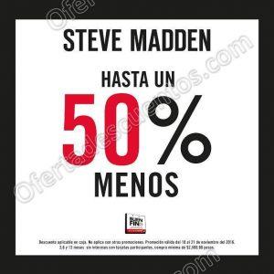 Promoción El Buen Fin 2016 en Steve Madden