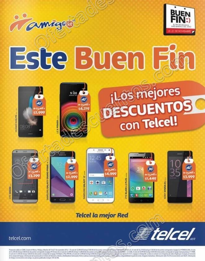 Promociones Buen Fin 2016 en Telcel: Galaxy J7 $4,999 y más