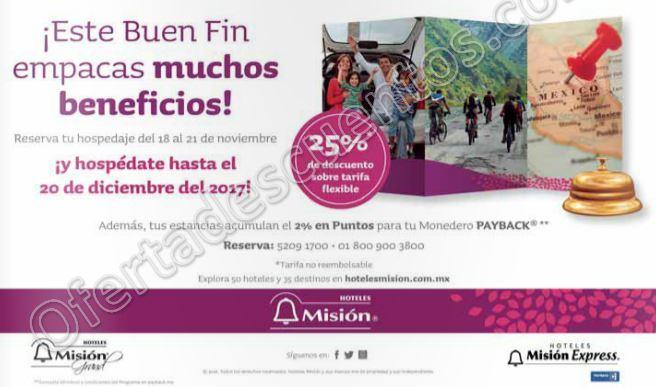 Promoción El Buen Fin 2016 en Hoteles Misión