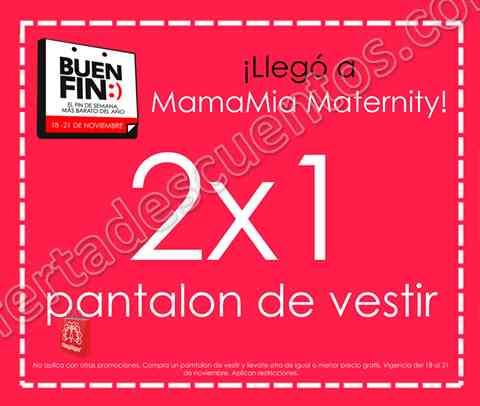 Promociones del Buen Fin 2016 en Brantano, MamaMía Maternity y Marsel