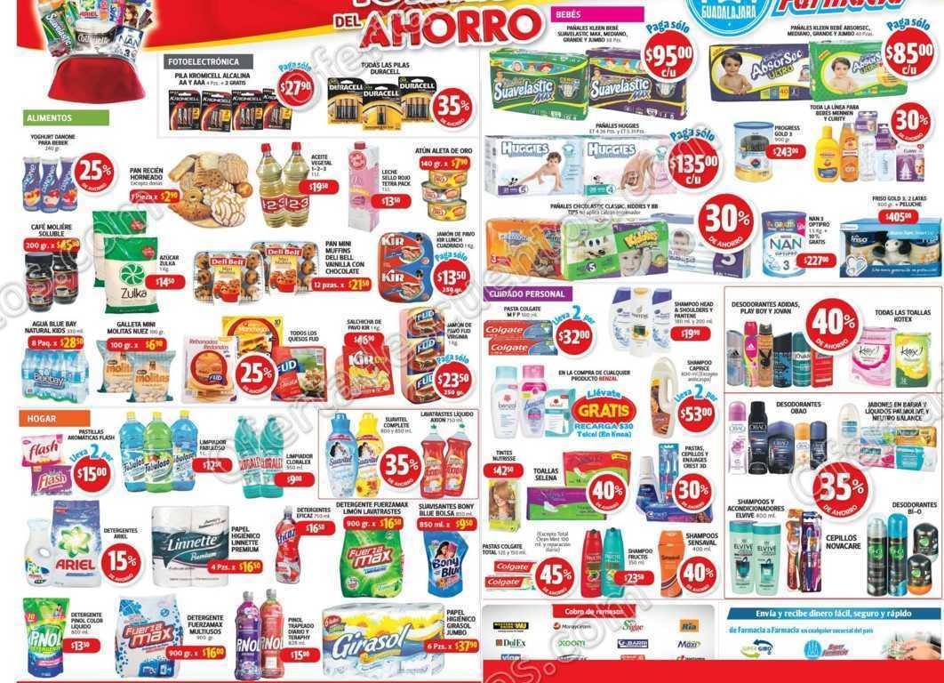 Farmacias Guadalajara: Promociones de fin de semana del 4 al 6 de Noviembre