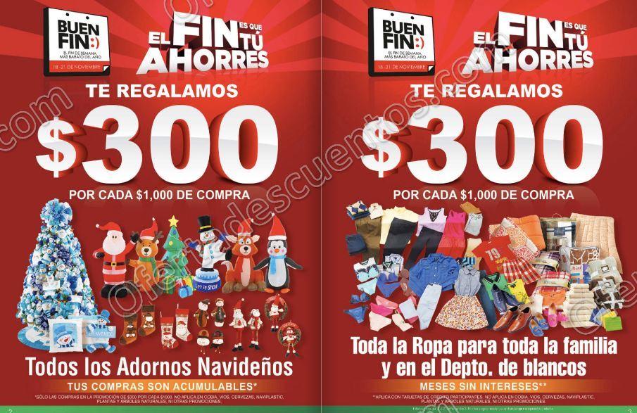 Folleto de Promociones del Buen Fin 2016 en Comercial Mexicana y Mega