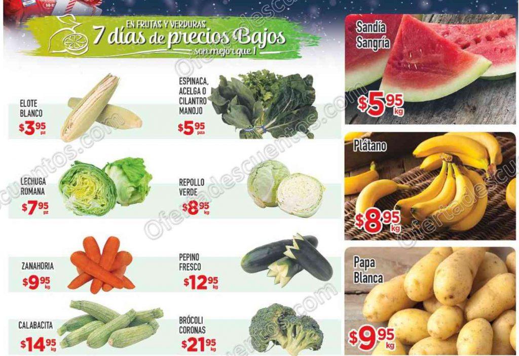 HEB: Tres Días de Frutas y Verduras del 15 al 17 de Noviembre