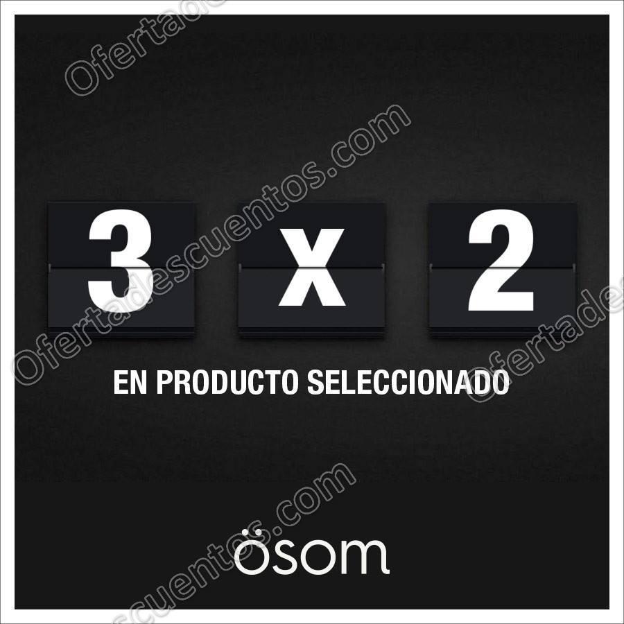 OSOM (Dafiti): 3×2 en mercancía seleccionada al 1 de Diciembre