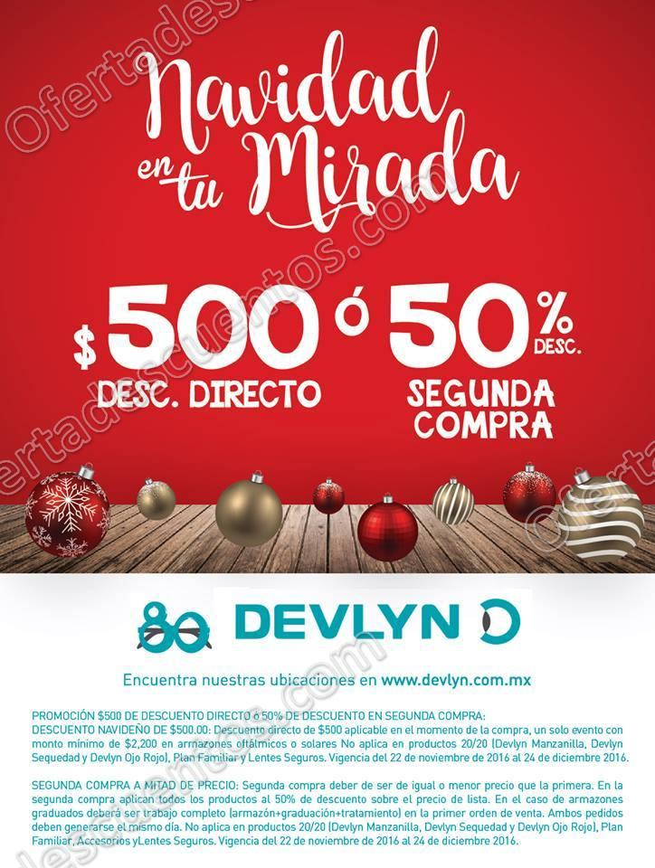Devlyn: $500 de descuento directo o hasta 50% de descuento en tu segunda compra al 24 de Diciembre