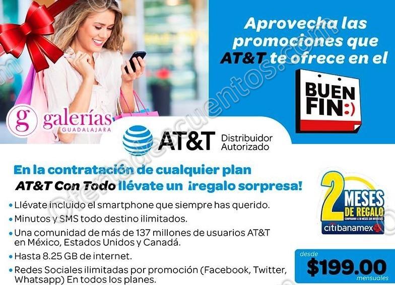 Promociones del Buen Fin 2016 en AT&T: 18 meses sin intereses y 2 de regalo con Banamex