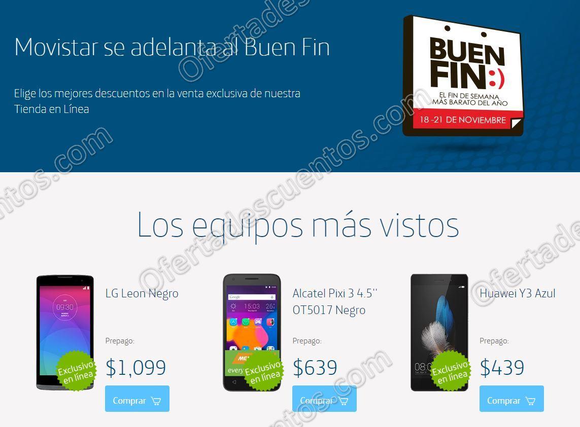 Promociones Buen Fin 2016 en Movistar Tienda en Línea