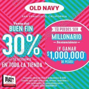 Promociones del Buen Fin 2016 Old Navy