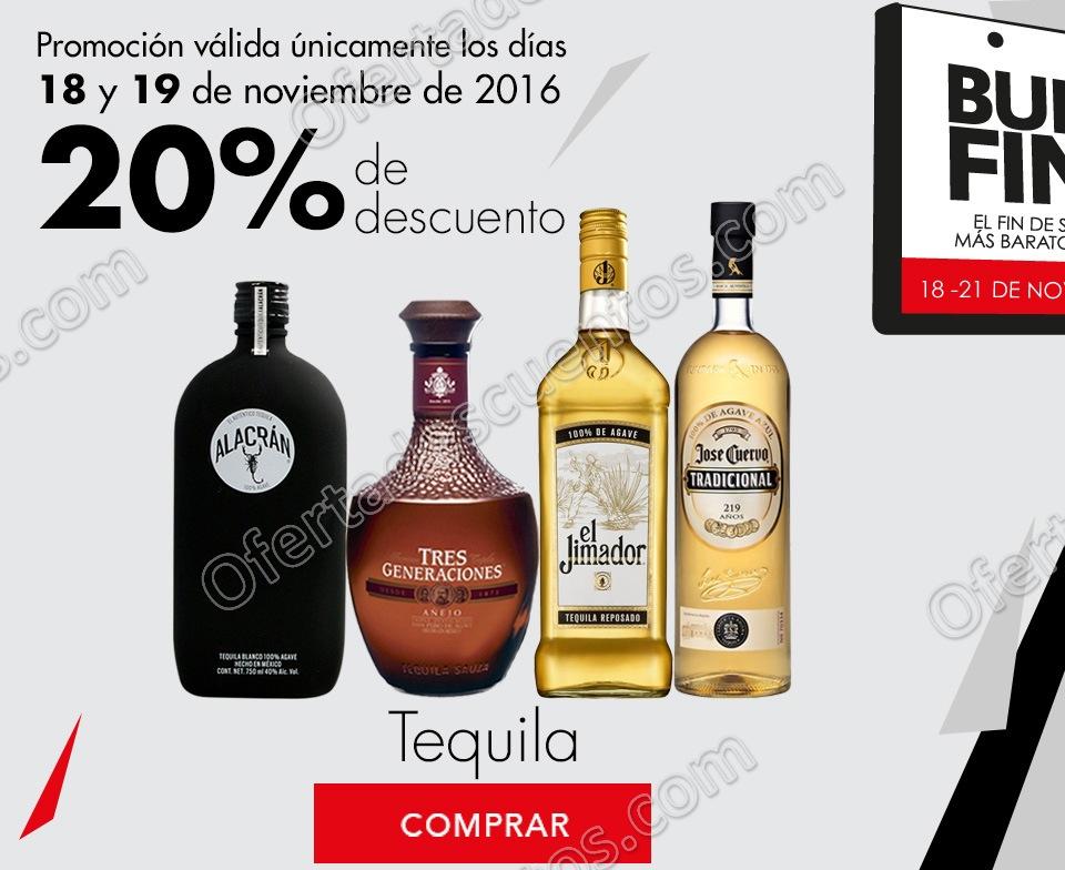 Promociones del Buen Fin 2016 en Bodegas Alianza: 20% de descuento en Vinos y Licores
