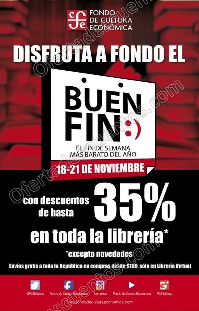 Ofertas Buen Fin 2016 en Fondo de Cultura Económica