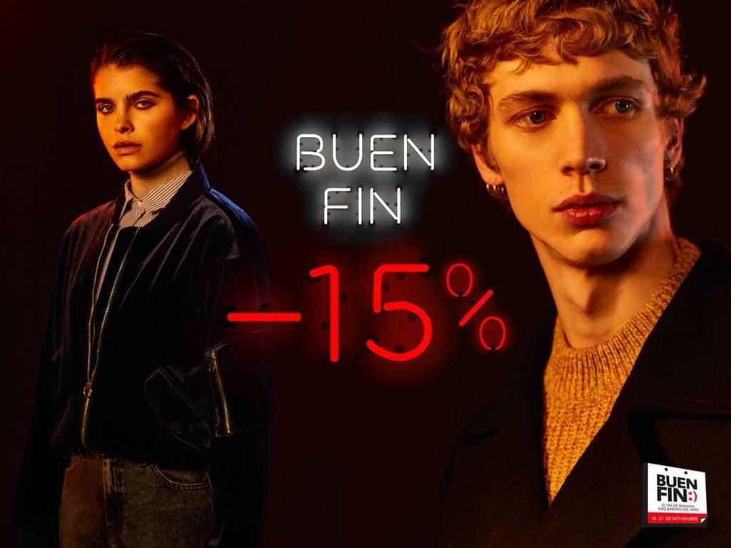 Promociones Buen Fin 2016 en Pull&Bear, Zara, Bershka, Oysho y Massimo Dutti