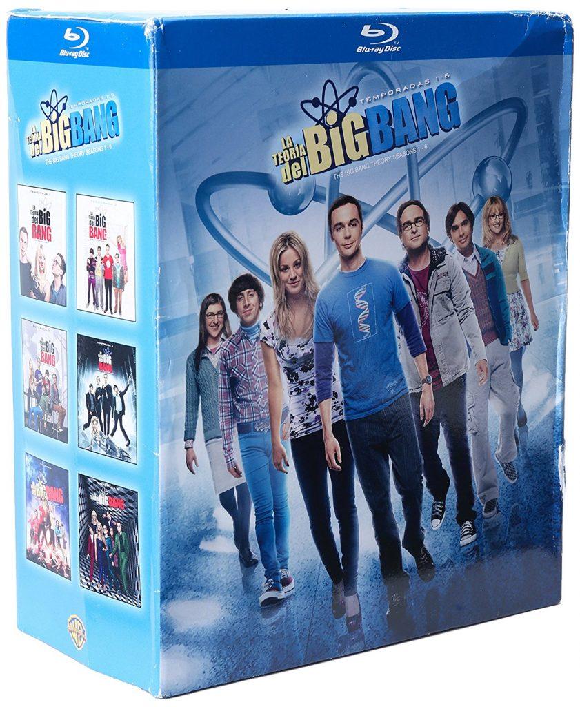 Amazon: Temporada 1 – 6 The Big Bang Theory a $475