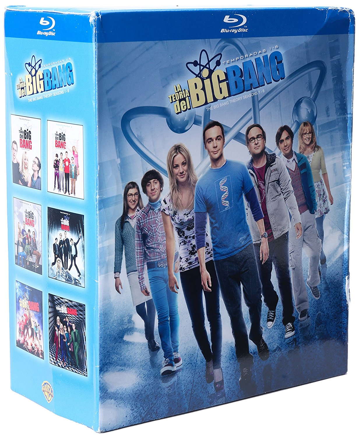 Amazon: Temporada 1 – 6 The Big Bang Theory a $475