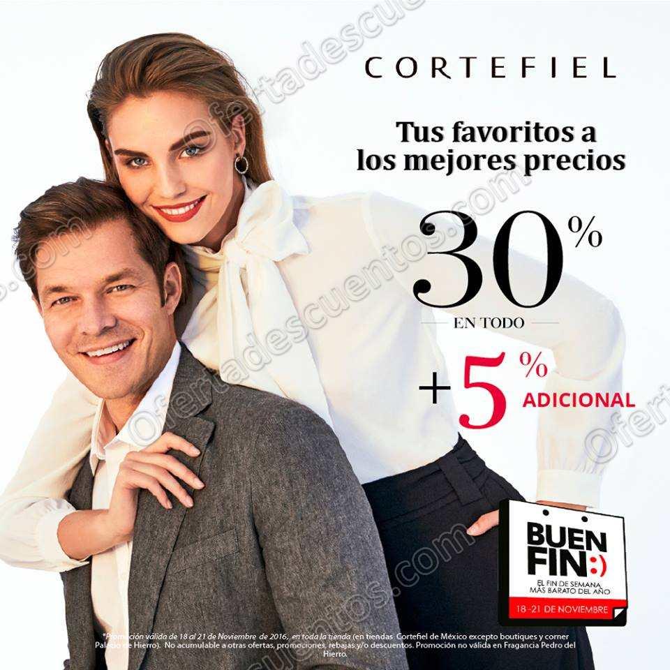 Promociones Buen Fin 2016 en Cortefiel
