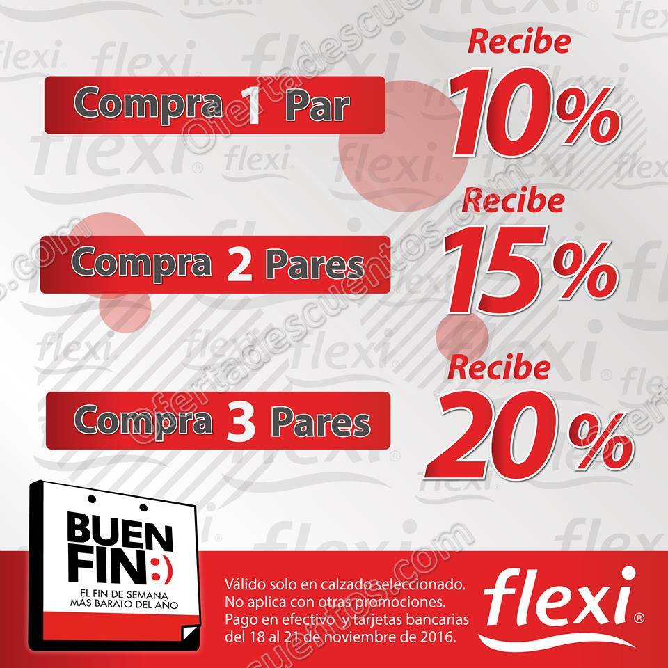 Promociones del Buen Fin 2016 Flexi