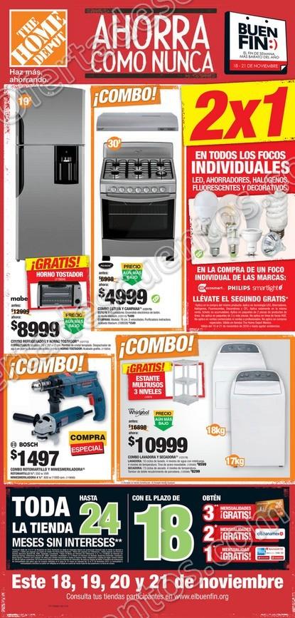 72d79c813a235 Folleto de Ofertas del Buen fin 2016 Home Depot