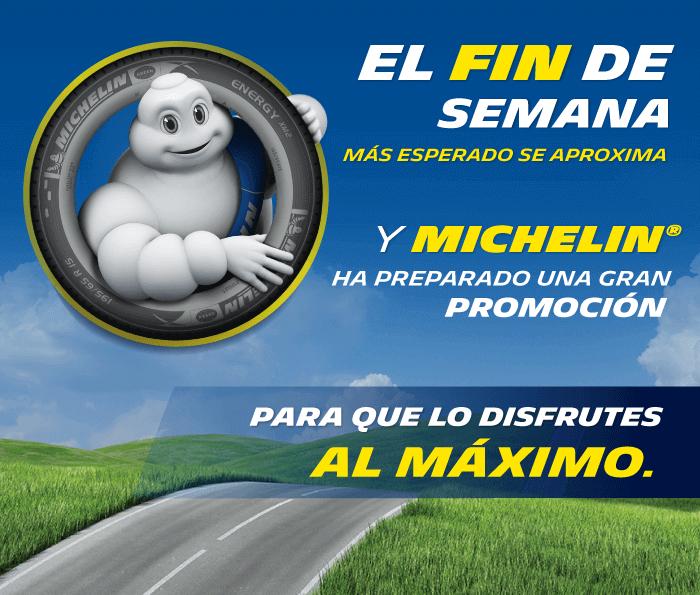 Promociones Buen fin 2016 en llantas Michellin y BFGoodrich