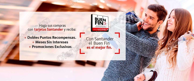 Promociones Santander Buen Fin 2016