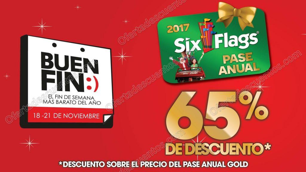 Promociones Buen Fin 2016 Six Flags