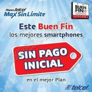Promociones Buen Fin 2016 en Telcel Equipos sin Pago Inicial y mas