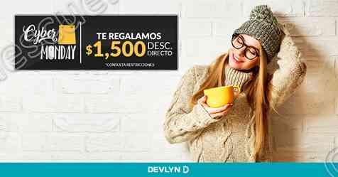 Cyber Monday Devlyn: $1,500 de Descuento Directo