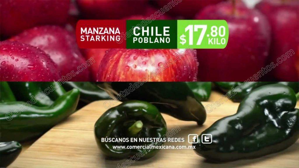 """Comercial Mexicana: Frutas y Verduras """"Hoy es Miércoles"""" 2 de Noviembre"""