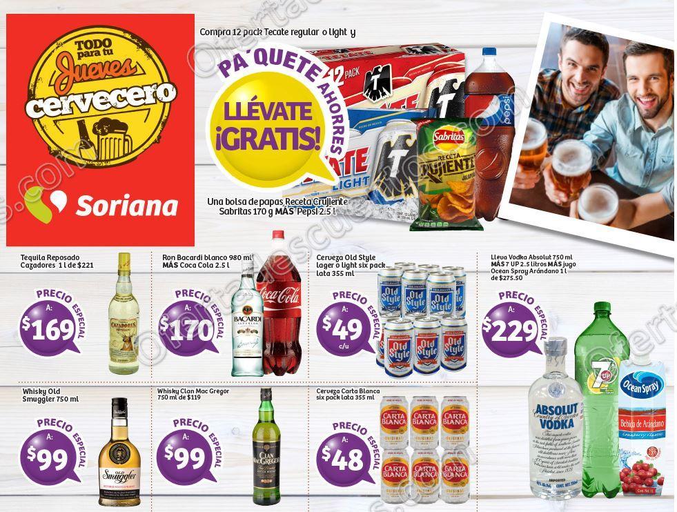 Soriana: Promociones Jueves Cervecero 3 de Noviembre