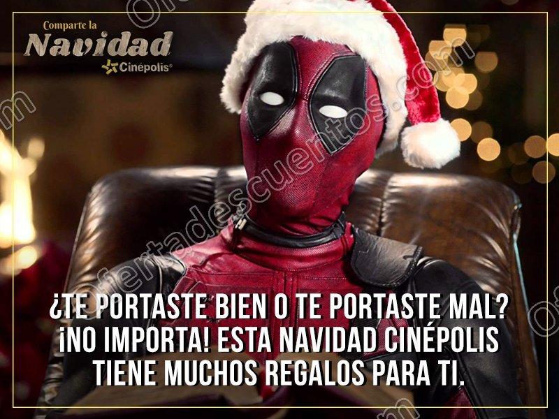 Navidad Cinépolis 2016 del 1 al 21 de diciembre