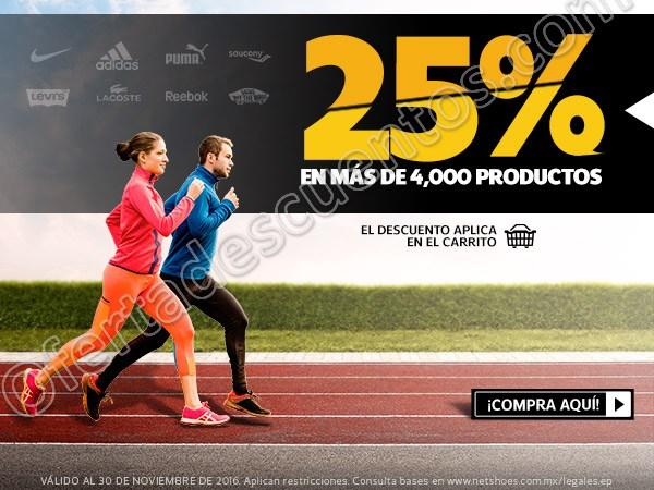 Netshoes: Black Friday Hasta 25% de Descuento