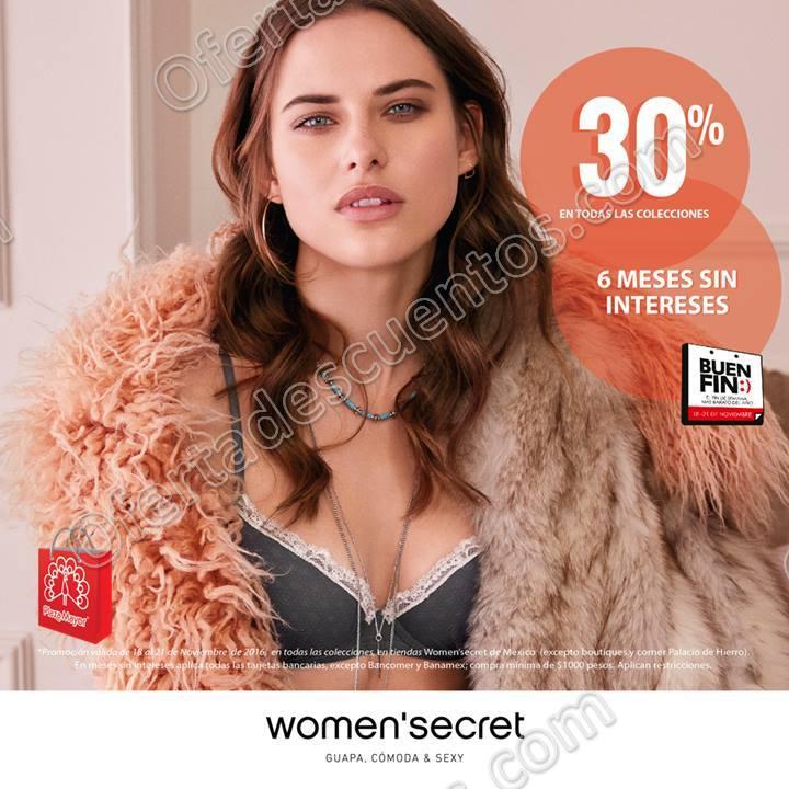 Promociones Buen Fin 2016 en Women's Secret, Intimissimi y Calzedonia